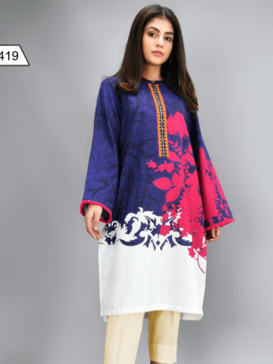 EMBROIDERED 3PC LAWN DRESS WITH CHIFFON DUPATTA